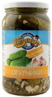 Изображение Огурцы с Чесноком и Укропом 900мл