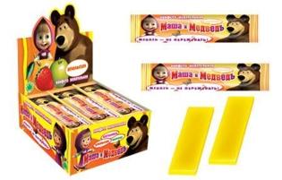 Изображение Маша и Медведь жев. конфеты ассорти 11g
