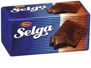 """Изображение Печенье """"Selga"""" с шоколадом 180g"""