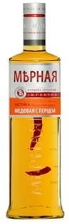 "Picture of Vodka ""Mernaya Honey Pepper"" 40% Alc. 0.5L"