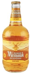"""Изображение Пиво """"Старый Мельник Из Бочонка Мягкое"""" 4.3% Alc.0.5L"""