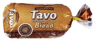 """Изображение Хлеб черный с семечками """"Tavo"""" 700g"""