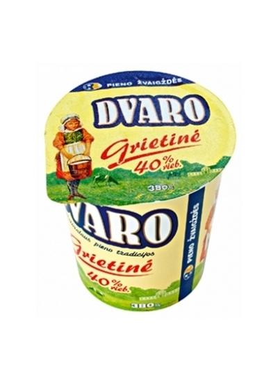 Picture of Sour Cream 40% Fat 380g Dvaro