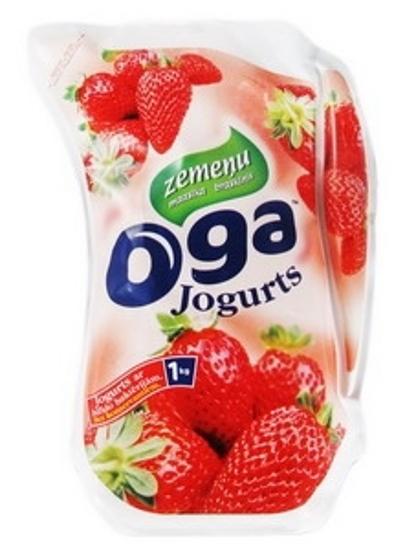 "Picture of Yogurt ""Oga"" Strawberry 1kg"