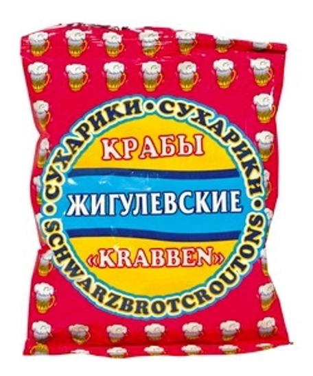 "Picture of Crust, Dried ""Zigulevskie"" Crab Flavour, 50g"