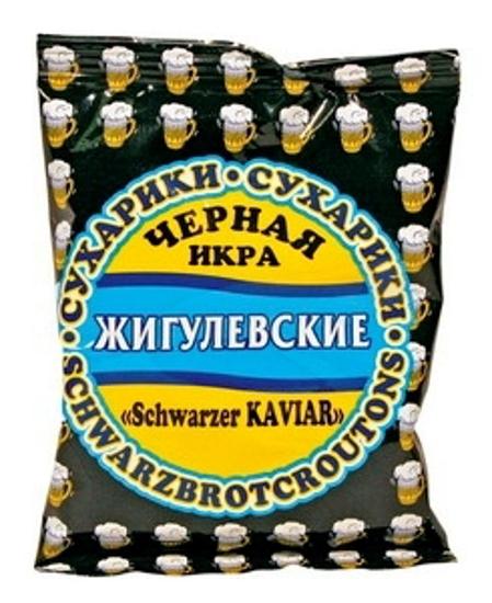 "Picture of Crust, Dried ""Zigulevskie"" Black Caviar Flavour 50g"