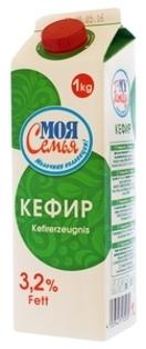 """Picture of Yoghurt, Kefir """"Moya Semya 3.2%"""" 1kg"""