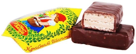Picture of Chocolate Sweets Krasnaya Shapochka 250g