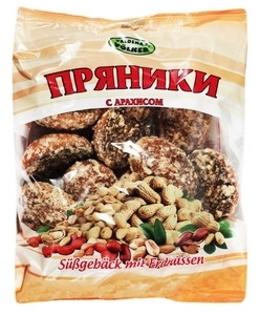 """Изображение Пряники """"Ореховые"""" 400g"""