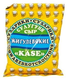 """Изображение Сухарики """"Жигулевские"""" со вкусом сыра 50g"""