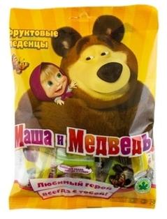 """Изображение Леденцы """"Маша и Медведь"""" 75g"""