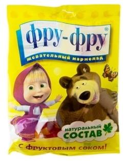 """Изображение Жевательные конфеты """"Маша и Медведь"""" 100g"""