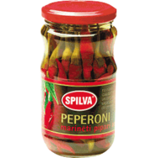 Picture of Spilva Peperoni Hot Peppers 330g