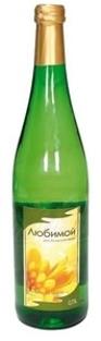 "Picture of Wine White Semi Sweet ""Lubimoy"" 10% Alc. 0.75L"