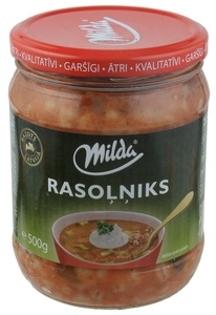 """Picture of Soup """"Rasolniks"""", Milda 500ml"""