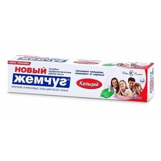 Picture of Toothpaste with Calcium  Novjy Jemchug75ml