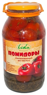 Picture of Tomatoes Marinated without Vinegar 1,9l