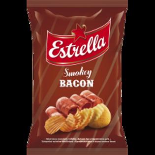 Picture of Estrella Bacon Flavour Crisps 130g