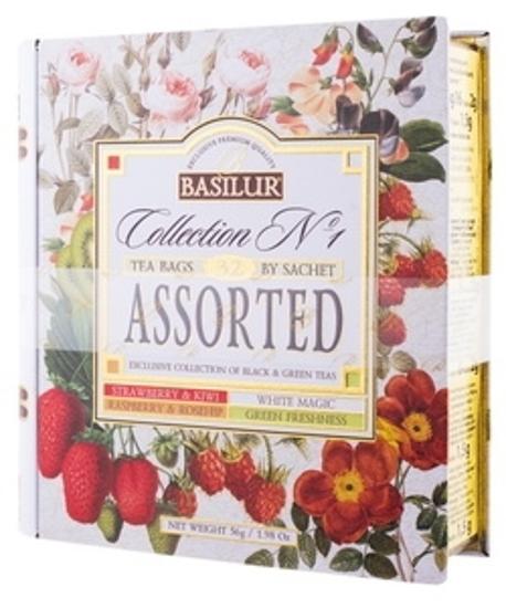 """Picture of Tea Mix """"Basilur Tea Book"""" 56g"""