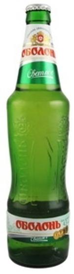 "Picture of Beer ""Obolon Light / Svetloe"" 4.5% Alc. 0.5L"
