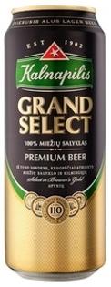 "Изображение Пиво в банке ""Kalnapilis Grand Select Premium"" 5.4% Alc. 0.5L"
