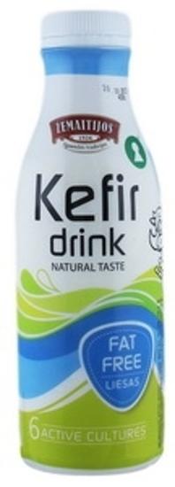 "Picture of Kefir ""Zemaitijos 0.5%""  450g"