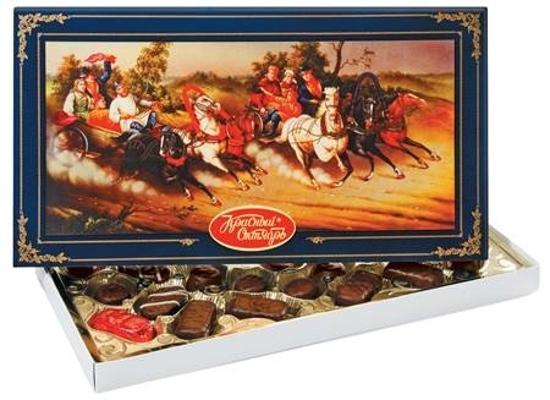 "Picture of Sweets ""Russkaya Troyka"", KO 350g"