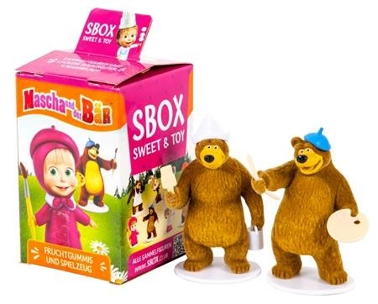 Picture of Masha and the Bear Sweets and Toy 10g