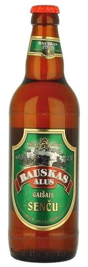 """Picture of Beer """"Bauskas Sencu Gaisais"""" Light  4.0% Alc. 0.5L"""