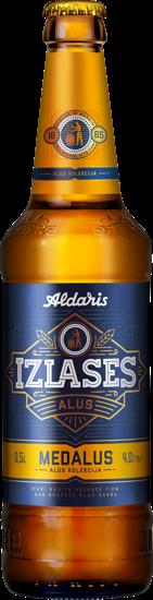 Picture of Aldaris Izlases Medalus 4%, 0.5L