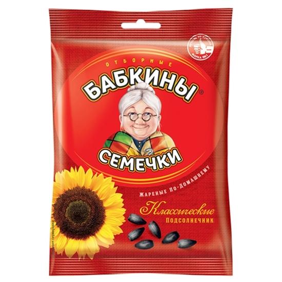 Изображение Babkiny Жареные семена подсолнечника 100г
