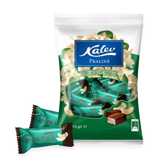 Picture of Kalev Praline Sweets with Cashew Nuts 175g