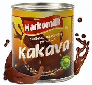 Изображение Сгущенное молоко с какао и сахаром 385g