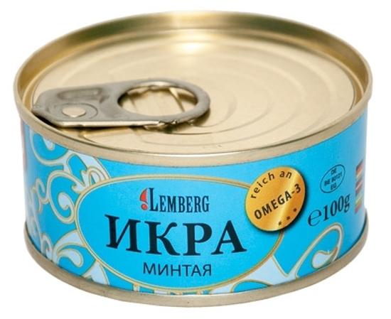 Picture of Lemberg Caviar Pollock/ Mintaja 100g