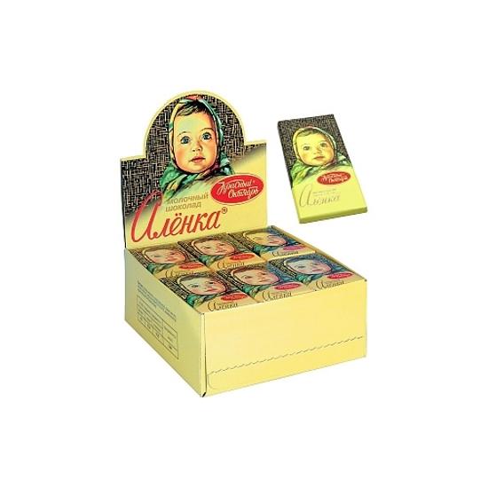 "Picture of Chocolate mini-bar ""Alenka"" RF 15g"