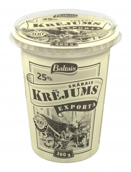 "Picture of Sour Cream ""Krejums Exporta"" 25% 360g"