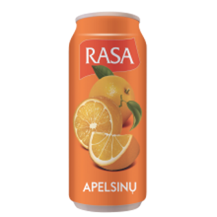 Picture of Rasa Fruit Orange Lemonade 500ml