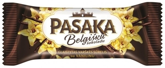 Picture of Pasaka Glazed Curd Cheese Bar with Vanilla and Belgian Chocolate 40g