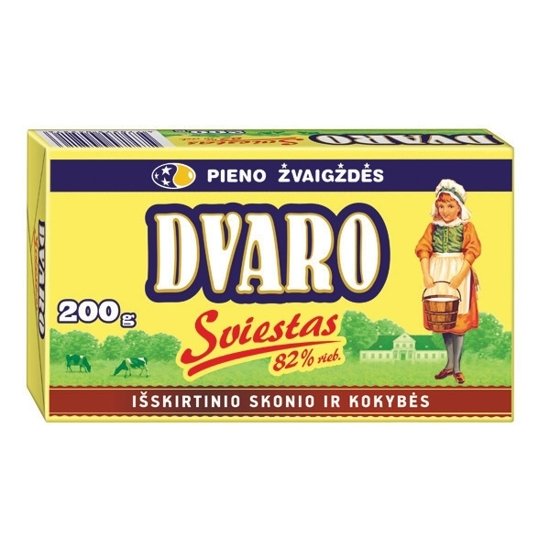 Picture of Butter 82% Fat 200g Dvaro