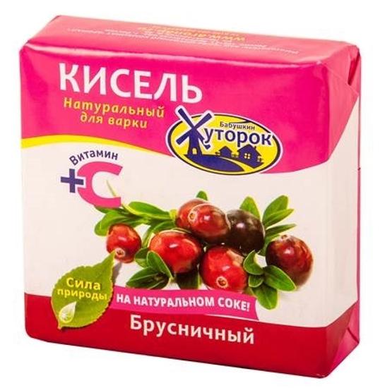 Picture of Babushkin Khutorok Kissel Cowberry Taste 180g