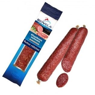 """Picture of Sausage, Smoked """"Klasikinis Saliamis"""", Biovela 200g"""