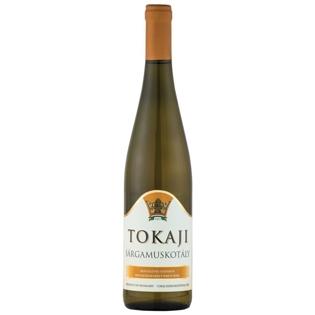"""Изображение Вино полусладкое белое """"Tokaji Sargamuskotaly"""" 11% Alc. 0.75L"""