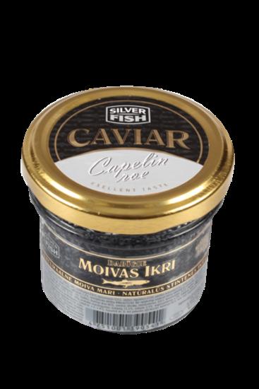 Picture of Silver Fish Capeline Caviar Black Glass 100g
