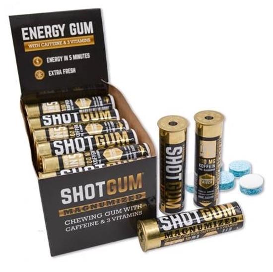Picture of Shotgum Chewing Gum 100mg caffeine 10g  18+