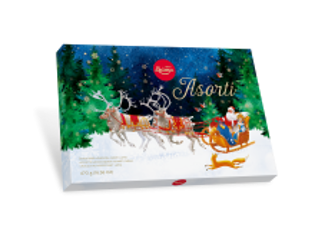 Picture of Christmas Sweets, Chocolate Assortment, Laima  470g
