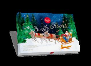 Изображение Рождественские конфеты, Шоколадный Ассортимент, Лайма 470г