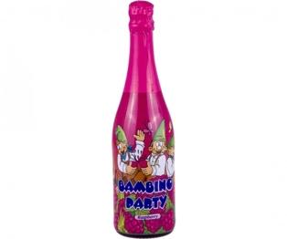 """Изображение Напиток газированный """"Bambino Party"""" со вкусом малины 0.75л"""