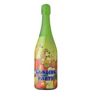 """Изображение Напиток газированный """"Bambino Party"""" со вкусом яблока 0.75л"""