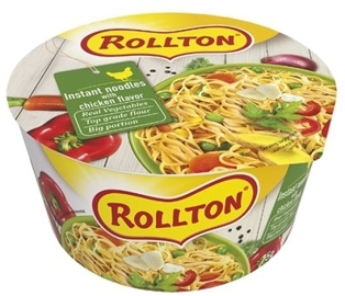 "Picture of Pasta, Luxury Noodle With Chicken Flavour ""Rollton"" 75g"