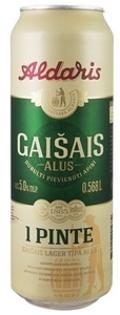 """Изображение Пиво в банке """"Gaisais"""", Aldaris 5% Алк. 0.568L"""